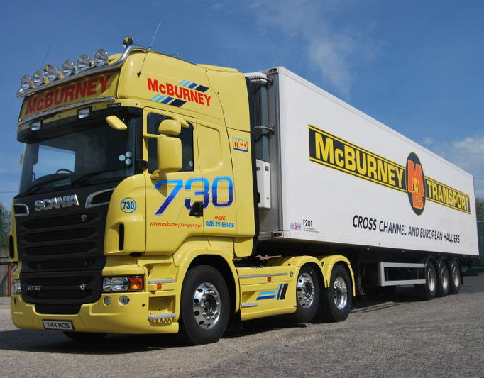 McBurney Transport trucks