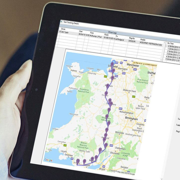 Transportation and logistics mobile apps